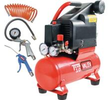 Compressore TEAM 10 con accessori 1551559-1551563 VALEX