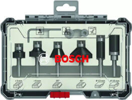 Set Frese sagomate in HM 6 PZ gambo 6mm 2607017468 BOSCH