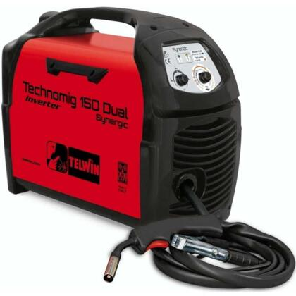 Saldatrice Inverter a filo Technomig 150 Dual Synergic 816050 TELWIN